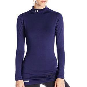 Under Armour Cold Gear Mock Neck Long Sleeve Shirt
